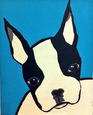 Lauren Ottaway, Louis the dog, 2013