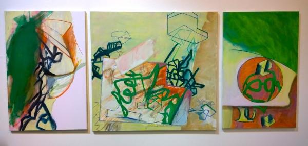 David Palliser, Triptych, at Chapman and Bailey