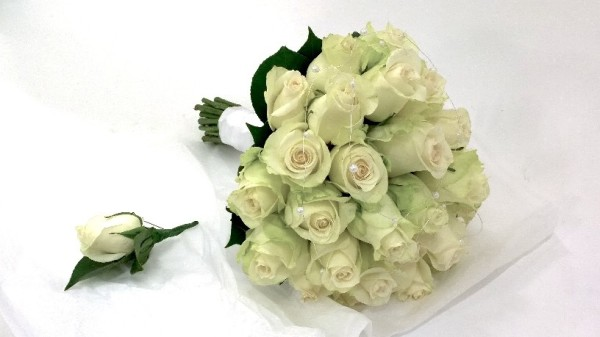 Wedding Roses Bouquet