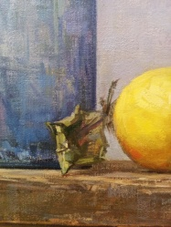 Andrea J. Smith detail of Ladle and lemons 2014