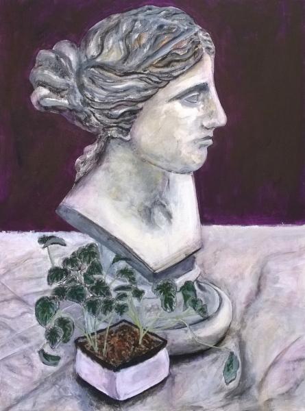 Elizabeth, acrylic on canvas