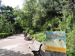 L'entree du Jardin Public, Vincent Van Gogh