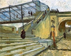 The Trinquetaille Bridge, VIncent Van Gogh