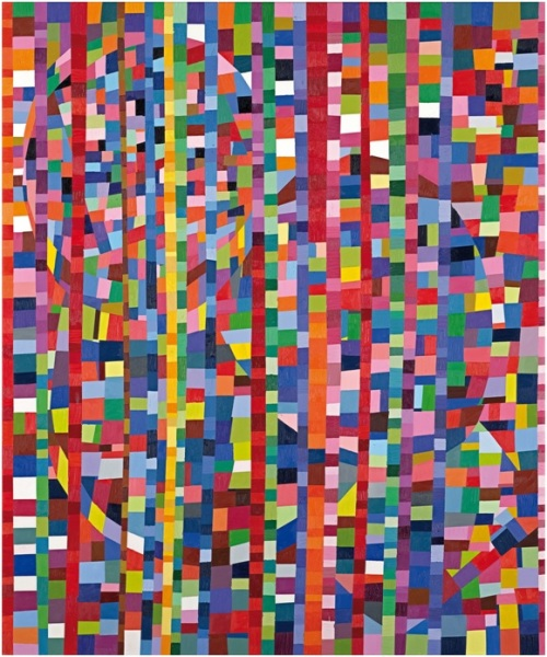 Melinda Harper, Untitled, 2000, oil on canvas, 183 x 152.3 cm, National Gallery of Victoria, Melbourne