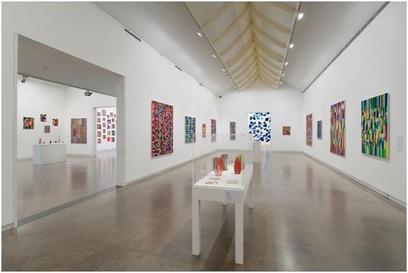 Colour Sensation: The Works of Melinda Harper, Installation view, photograph: Christian Capurro, Heide Museum of Modern Art