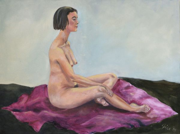 Felice, Term 3 Painting, 2015