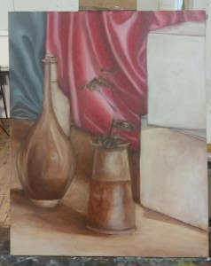 Ivana Dash, Still Life Glaze (work in progress)