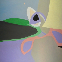 Marco Corsini, A kind of homecoming, 2005, 70 x 70 cm, Acrylic on cotton