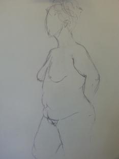 Ivana Dash Life Drawing